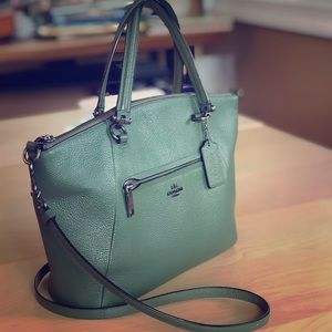 Coach Olive Green Prairie Satchel